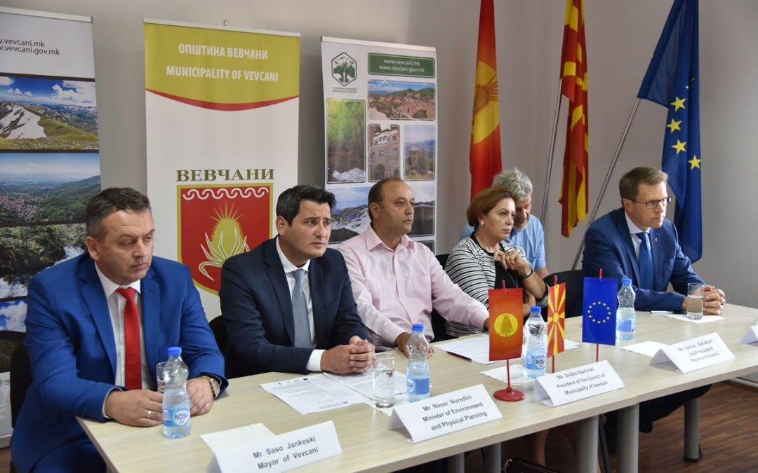 Советот на Општина Вевчани денеска го усвои Планот за управување со Вевчанските извори