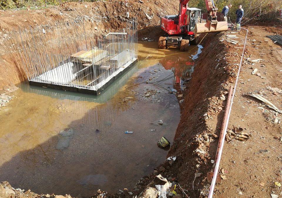 Активно се работи на изградбата на Пречистителната станица во Вевчани