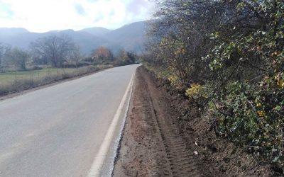 """Започна реконструкцијата на регионалниот пат """"Вевчани – Суво поле"""""""