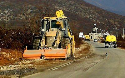 Реконструкција на региналниот пат Вевчани – Суво поле (Кореа)