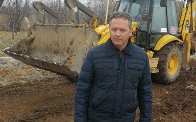 """Започна изградбата на локалната улица """"Каланој – Обиколница"""""""