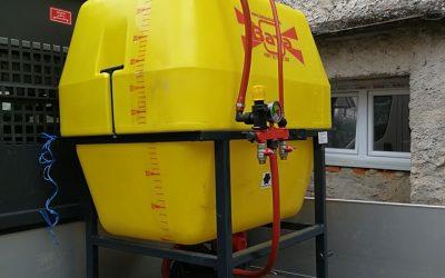 Општина Вевчани набави нова тракторска прскалка за спроведување на оперативните мерки