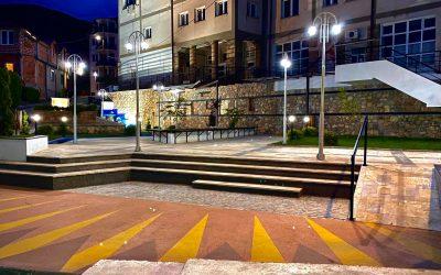 Изграден новиот парк во центарот на Вевчани