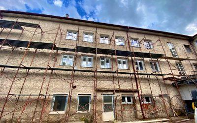Термо фасада на општинската зграда – Домот на култура – Вевчани