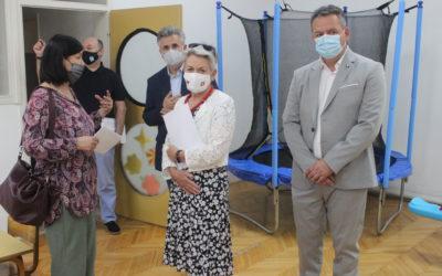 Амбасадорката на Швајцарија Сибил Зутер го посети Вевчани